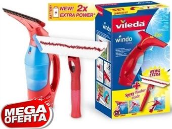 MEGA OFERTA: WindoMatic Set da VILEDA = Aspirador de vidros sem fios e Mopa com pulverizador incorporado por 44€. PORTES INCLUIDOS.