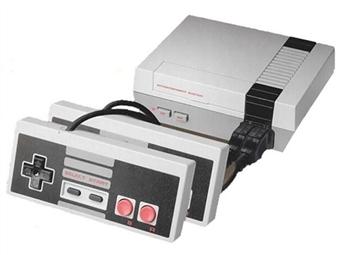 Consola Clássica com 2 Comandos e Jogos (Super Mario, Mortal Kombat, Double Dragon, Tetris, Water Pipe, Pacman, etc.) por 35€. PORTES INCLUÍDOS.
