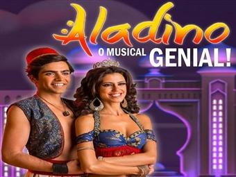 ALADINO - O MUSICAL GENIAL de Filipe La Féria no Teatro Politeama em Lisboa desde 8.75€. Venha assistir a este grandioso espectáculo.
