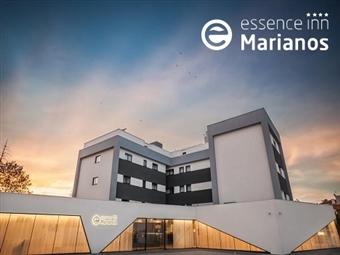 Essence Inn Marianos 4*: Até 3 Noites no centro de Fátima com Pequeno-almoço, Jantar e Workshop de Velas desde 41.50€.