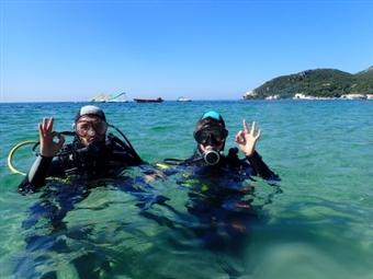 Workshop e Baptismo de Mergulho de Mar na Serra da Arrábida em Setúbal para 1 ou 2 Pessoas desde 58.90€. O Mar ao alcance de um Mergulho!