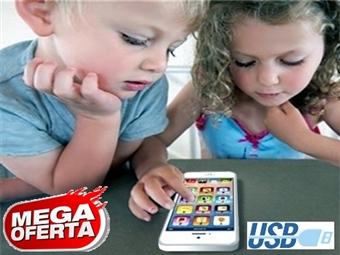 MEGA OFERTA: Kids Smartphone com Micro USB, 8 Funções Principais, Luzes LED e muito mais desde 11€. PORTES INCLUÍDOS.