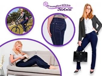 1 ou 2 JEGGINGS COMFORTISSE: Fusão de Jeans e Leggings em Azul com 5 Tamanhos à Escolha desde 19€. Esteja na moda com todo o conforto! PORTES INCLUÍDOS.