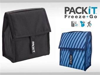 1 ou 2 Malas Térmicas Portáteis Packit com 2 Cores à escolha desde 15€. Mantém os seus alimentos e bebidas frias até 10 horas. PORTES INCLUÍDOS.