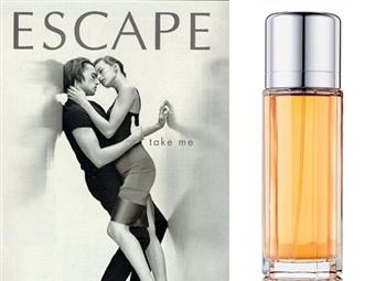Eau de Parfum CALVIN KLEIN ESCAPE para Senhora de 100ml por 33€. Um aroma inspirado na mulher romântica, inteligente e alegre. PORTES INCLUÍDOS.