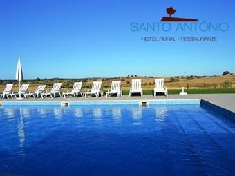 Hotel Rural Santo António 3*: Até 5 Noites no ALTO ALENTEJO com Pequeno-almoço, Piscina e Jacuzzi exterior desde 28.50€. RESERVA ONLINE.
