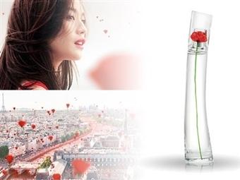 Eau de Parfum KENZO FLOWER para Senhora de 50ml por 82€. A flor é o elo essencial que nos liga à natureza. PORTES INCLUÍDOS.