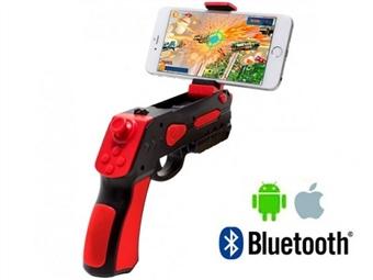 Pistola AR Gun com Bluetooth para Smartphones por 18€. Experiência realista com a fusão do mundo real e mundo virtual. PORTES INCLUIDOS.