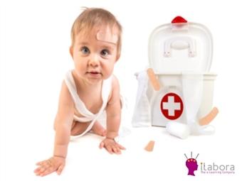 Curso Online de Primeiros Socorros em Bebés e Crianças por 19€ com Certificado no iLabora. Os seus conhecimentos podem salvar uma vida!