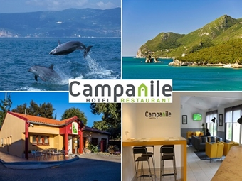Hotel Campanile em Setúbal: Estadia com Pequeno-almoço, Passeio de barco no Rio Sado à procura de Golfinhos e Visita a Tróia por 74€.