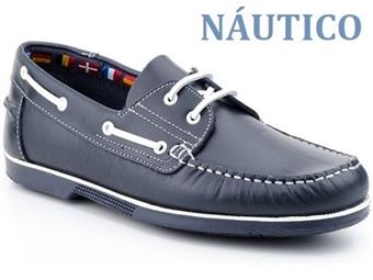 Sapatos Náutico Caballero Marine Blue White com várias medidas à escolha por 54€. PORTES INCLUÍDOS.