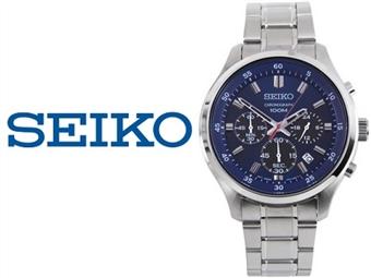 Relógio de Pulso Seiko Neo Sports Silver 10 ATM por 125€. Inovação com Design. PORTES INCLUÍDOS.
