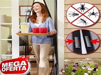 MEGA OFERTA: 1 ou 2 Caixas de Cortinas Magnéticas Anti-Insectos desde 6.50€. A solução que procurava para a sua casa. PORTES INCLUÍDOS.