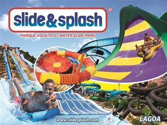 SLIDE & SPLASH: Entrada para ADULTO por 24.30€. Divertimento Garantido no Algarve com vários Espectáculos.