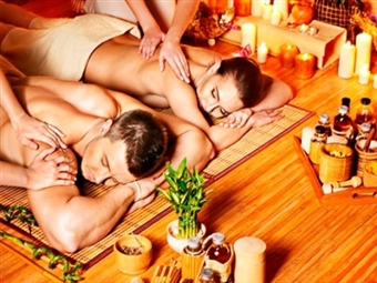 Stetic4u Benfica - Massagem NO-STRESS às Costas e Ombros + Ritual de Chá para Casal - 45min por 39.90€!! Relaxe com quem Mais Gosta!