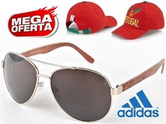 MEGA OFERTA: Óculos de Sol Estilo Aviador #1 por 19€. OFERTA: Boné Adidas Portugal FIFA World Cup. ENVIO IMEDIATO - PORTES INCLUÍDOS - EXCLUSIVO.