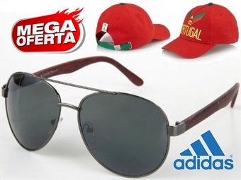 MEGA OFERTA: Óculos de Sol Estilo Aviador #2 por 19€. OFERTA: Boné Adidas Portugal FIFA World Cup. ENVIO IMEDIATO - PORTES INCLUÍDOS - EXCLUSIVO.