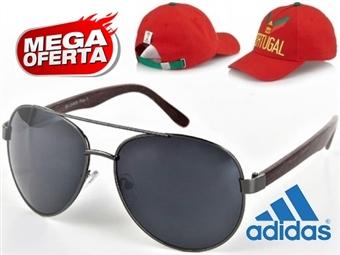 MEGA OFERTA: Óculos de Sol Estilo Aviador #3 por 19€. OFERTA: Boné Adidas Portugal FIFA World Cup. ENVIO IMEDIATO - PORTES INCLUÍDOS - EXCLUSIVO.