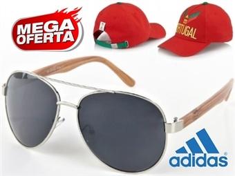 MEGA OFERTA: Óculos de Sol Estilo Aviador #4 por 19€. OFERTA: Boné Adidas Portugal FIFA World Cup. ENVIO IMEDIATO - PORTES INCLUÍDOS - EXCLUSIVO.