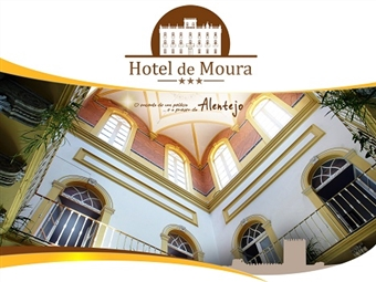 Hotel de Moura: Estadia de 1 ou 2 noites com Pequeno-almoço e muitas Surpresas num Palácio Encantado no Alentejo desde 29€.