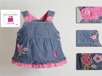 Aprenda a Costurar roupa para BEBÉ e CRIANÇA em Alvalade por 24€ . Pequenos Mimos Grandes Trabalhos!