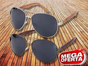 MEGA OFERTA: Óculos de Sol Estilo Aviador por 10€. Proteção Máxima de 400 UV. ENVIO IMEDIATO e PORTES INCLUÍDOS.