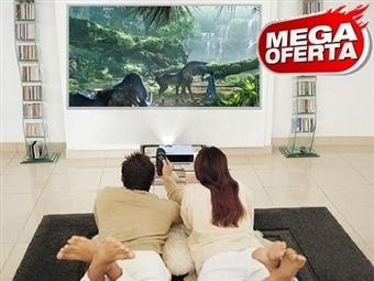MEGA OFERTA: Projetor Portátil HD Tricolor LED com Comando, USB, SD, HDMI, IP e IR por 84€. Cinema em Casa! PORTES INCLUIDOS.