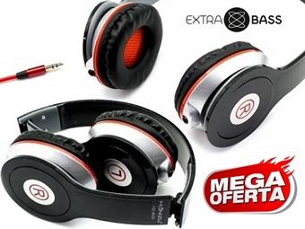 MEGA OFERTA: Auscultador Estéreo Compatível com PC/MAC, MP3/MP4, Consolas e outros Dispositivos Móveis com Ligação Jack por 13.50€. PORTES INCLUÍDOS.