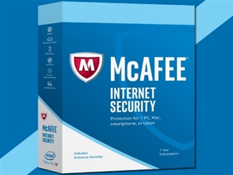McAfee Internet Security por 13€. Dispositivos Ilimitados. Software de Segurança Máxima Online durante 1 Ano. ENVIO INCLUÍDO.