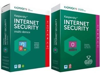 Kaspersky Internet Security para 1, 3 ou 5 Dispositivos. Software de Segurança Máxima Online durante 1 Ano desde 23€. ENVIO INCLUÍDO.