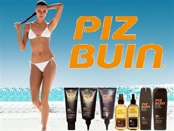 PIZ BUIN: Protectores Solares para Rosto e Corpo desde 8.50€. Pele Bronzeada e Hidratada. ENVIO IMEDIATO e PORTES INCLUÍDOS.