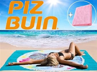 PIZ BUIN: 2 Protectores Solares para Corpo com OFERTA de 1 Toalha Anti-Areia por 22€. ENVIO IMEDIATO e PORTES INCLUÍDOS.