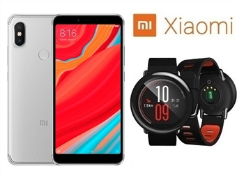 Smartphone Xiaomi Redmi S2 3GB/32GB de 5,99'' com Android, Octa-Core, Dual SIM e Câmara + Smartwatch Xiaomi Amazfit Pace por 323€. PORTES INCLUÍDOS.