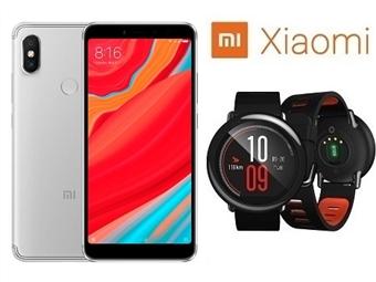 Smartphone Xiaomi Redmi S2 4GB/64GB de 5,99'' com Android, Octa-Core, Dual SIM e Câmara + Smartwatch Xiaomi Amazfit Pace por 379€. PORTES INCLUÍDOS.