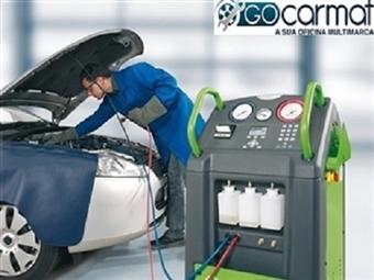 GOCARMAT OFICINAS: Recarga de Ar Condicionado e Check Up da Viatura por 49.90€.