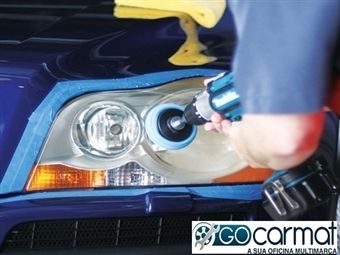 GOCARMAT OFICINAS: Polimento de 2 faróis e check-up da viatura por 34.90€.