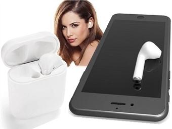 1 ou 2 Auriculares sem Fios com Bluetooth e Microfone com ou sem Caixa de Carregamento para Ouvir Música e Receber Chamadas desde 17.50€. PORTES INCLUÍDOS.