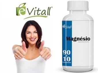 Magnésio da é-Vitall: Frasco de Comprimidos para 33 Dias desde 6.50€. Prevenção da fadiga e recuperação pós-treino. ENVIO IMEDIATO e PORTES INCLUÍDOS.