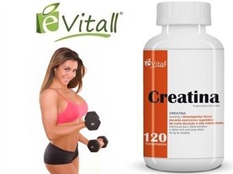 Creatina da é-Vitall: Frasco de Comprimidos para 40 Dias desde 10€. Aumenta o desempenho fisico. ENVIO IMEDIATO e PORTES INCLUÍDOS.