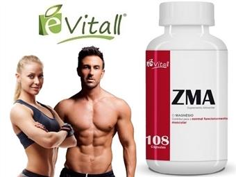 ZMA da é-Vitall: Frasco de Cápsulas para 36 Dias desde 10€. Força Muscular e Acelera o Metabolismo. ENVIO IMEDIATO e PORTES INCLUÍDOS.