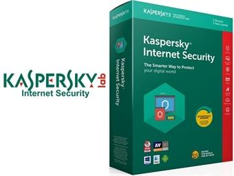 Kaspersky Internet Security 2019 para 1, 3 ou 5 Dispositivos. Software de Segurança Máxima Online durante 1 Ano desde 23€. ENVIO INCLUÍDO.