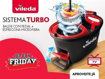 MEGA OFERTA: Easy Wring & Clean Turbo da VILEDA por 29€. VER VIDEO. ENVIO IMEDIATO e PORTES INCLUIDOS.