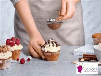 Curso Online de Cupcakes com Certificado no iLabora por 19€! Surpreenda na Arte da Confeitaria!
