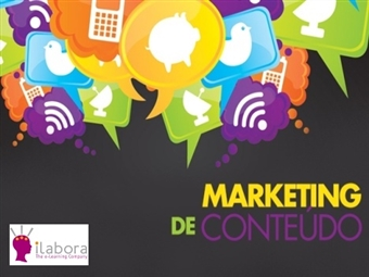 Curso Online Marketing de Conteúdo com Certificado no iLabora por 19€!