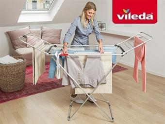 Estendal Fusion da VILEDA por 33€. Permite estender até 20 m de roupa. ENVIO IMEDIATO e PORTES INCLUIDOS.