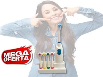 MEGA OFERTA: Escova de Dentes Total Care com 5 Cabeças Coloridas e Suporte por 13€. PORTES INCLUÍDOS.