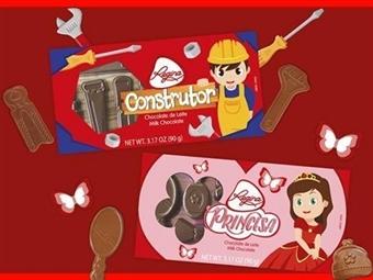 1 ou 2 Chocolates de Leite da REGINA: O Construtor e/ou A Princesa desde 4.25€. Um momento doce e divertido para os mais pequenos. PORTES INCLUÍDOS.