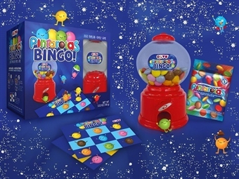 1 ou 2 Jogos do Bingo da PINTAROLAS desde 9.25€. Um jogo para toda família com chocolates, 4 cartões e o dispensador. PORTES INCLUÍDOS.
