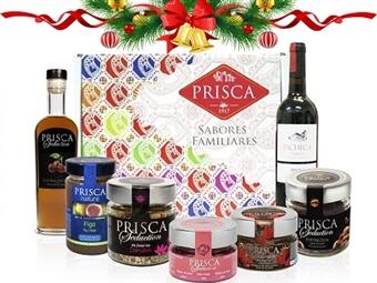 Mala Portugalidade ROMÂNTICA da CASA DA PRISCA desde 26.50€. Composta por 7 deliciosos produtos! PORTES INCLUÍDOS.