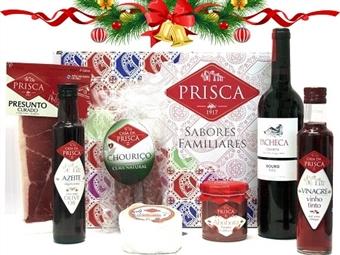 Mala Portugalidade TRADICIONAL da CASA DA PRISCA desde 20.50€. Composta por 7 deliciosos produtos! PORTES INCLUÍDOS.